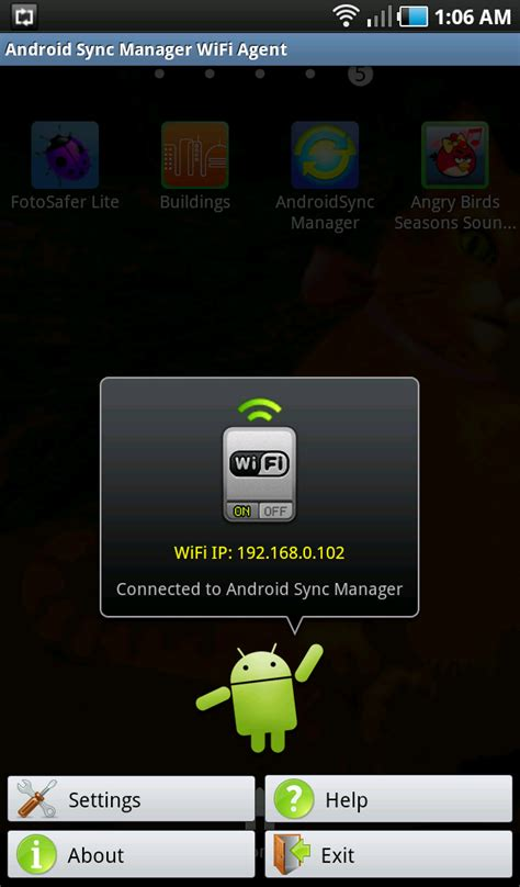 sync to android android news tips and reviews how to sync your android devices and pc via wifi