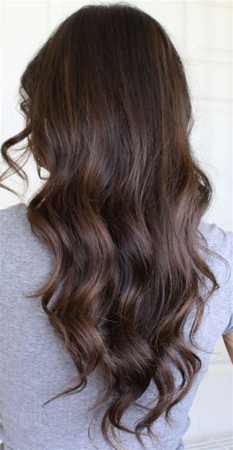 auburn highlights for dark brown hair on african americans balayage ideas for brown hair