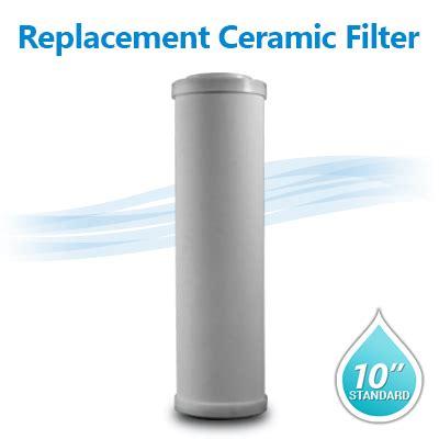 10 Ceramic Filter - doe ceramic filter 0 8 0 3 micron filter size 10 quot x2 5 quot
