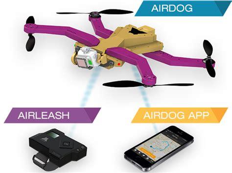 Drone Airdog airdog a personal quadcopter that automatically follows