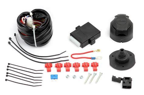 universal 7 pin 12n single electric kit wiring for towbar