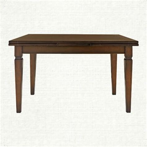 arhaus dining room tables luciano 54 quot rectangle dining table in burnished brown