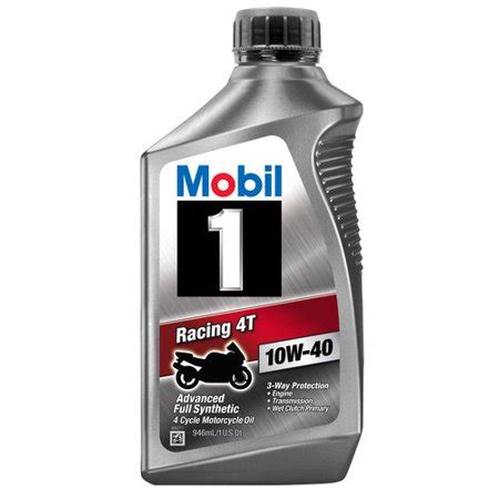 mobil 1 10w40 mobil 1 10w 40 synthetic motorcycle 1 qt