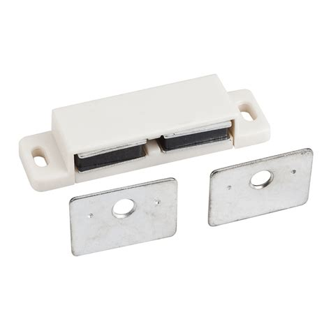 Magnetic Drawer Catch by White Magnetic Catch 2 15 16 Quot