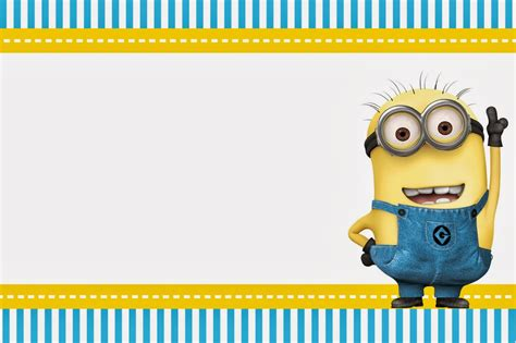printable minion stationery despicable me invitations and party free printables oh