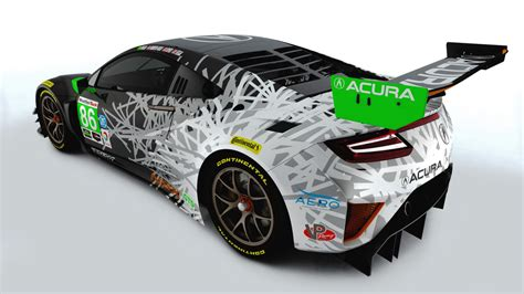 acuras  nsx gt livery   bomb diggity roadshow
