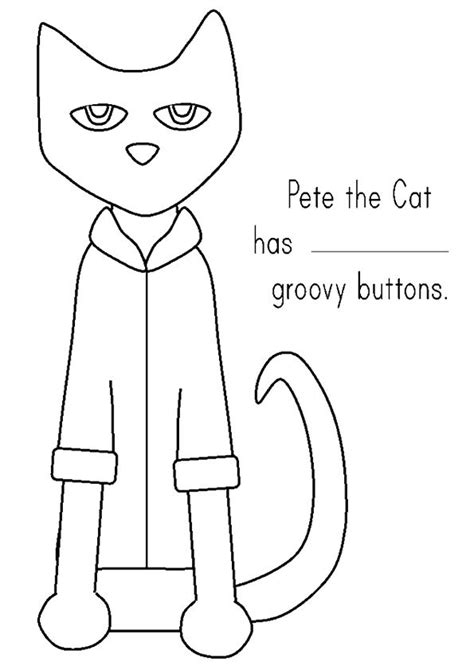 1000 Images About Coloring Pages On Pinterest Pete The Cats Coloring And Paisley Coloring Pages Pete The Cat Shirt Template
