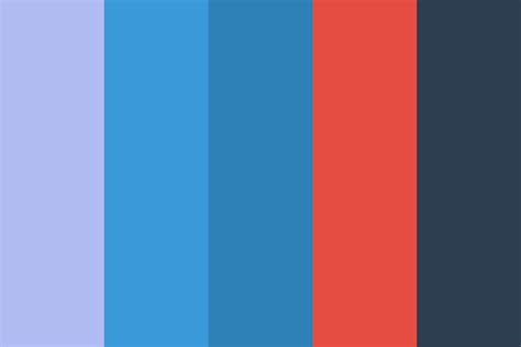 flat color flat design color palette