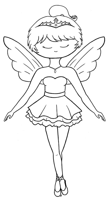 Ballerina Coloring Pages For Childrens Printable For Free Ballerina Colouring Page