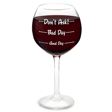 Beverage Coasters How Was Your Day Wine Glass The Scientific Mood