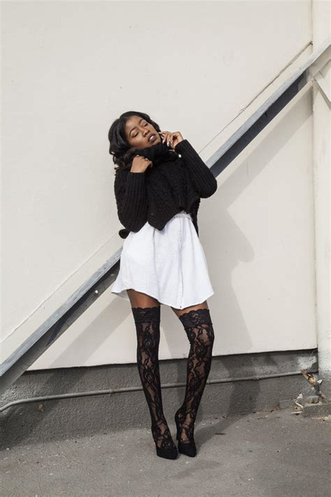 diy lace thigh high boots locks and trinkets