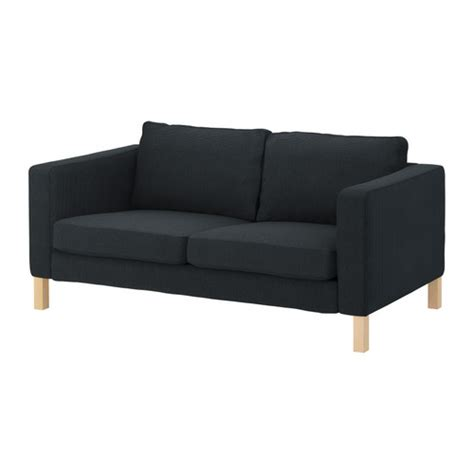 ikea karlstad sofa grey karlstad cover two seat sofa korndal dark grey ikea