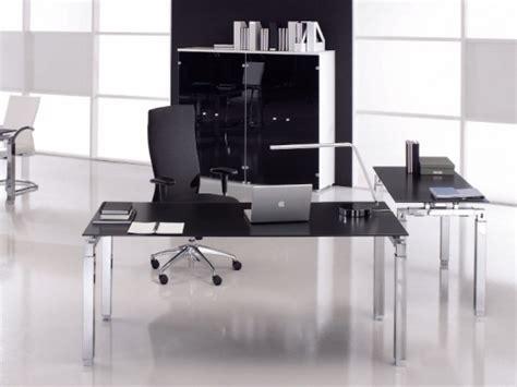 bureau de direction design pas cher bureau de direction design epsilon en verre