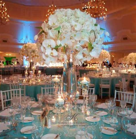 light blue wedding reception decorations archives