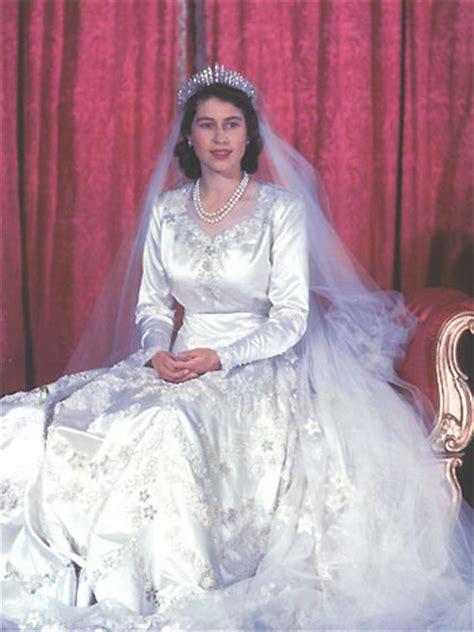 Elizabeths Wedding Dress Our One 3 by Days Of Majesty The Royal Weddings Part 2