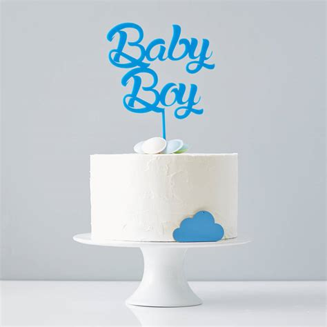 Boy Or Baby Shower Cake by Baby Boy Baby Shower Cake Topper By