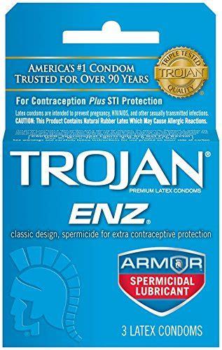 trojan enz comfort trojan enz spermicide 3ct health beauty health care