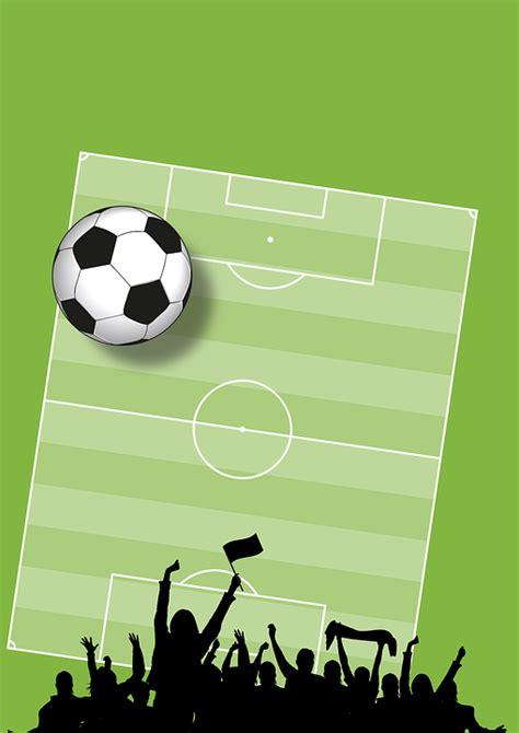 futebol plano de fundo cheers grafico vetorial gratis