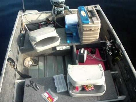 fishing boat setup ideas fishing from a small boat youtube