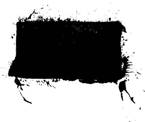empty rectangle stamp grunge png transparent onlygfxcom