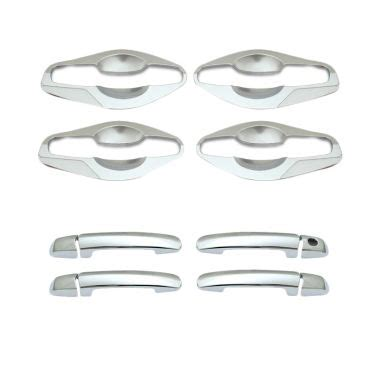 Cover Handle Outer Sx4 jual klikoto silver door handle cover for suzuki ertiga inner and outer harga