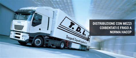 trasporto alimentare tdl trasporti depositi logistica
