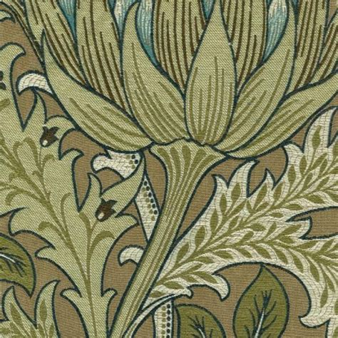 William Morris Upholstery Fabric by William Morris Artichokes And Upholstery Fabrics On