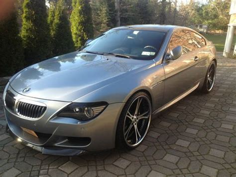 custom bmw m6 find used custom bmw m6 babied asanti 22 quot in island