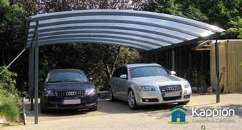Auto Canopy Carport 2 car carport for covering your cars kappion carports canopies