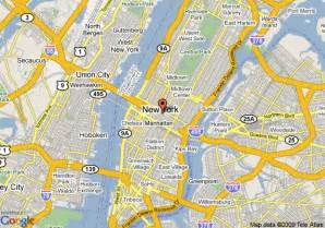 New York Map Google by New York Map Google