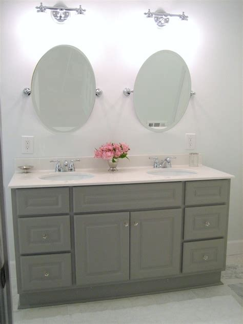 gray painted bathroom cabinets bathroom cabinets painted gray transitional bathroom