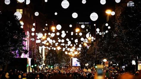 top five london christmas light switch ons london