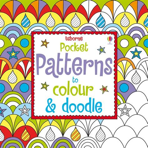 doodle patterns to colour pocket patterns to colour and doodle at usborne books at