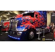 2015 Western Star 5700 OP Optimusprime Transformers Truck