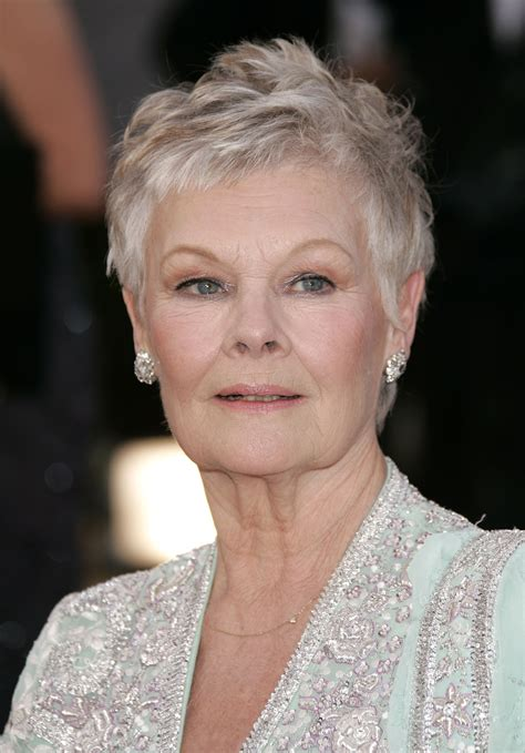 how to cut judi dench hair the best exotic haircut model mom