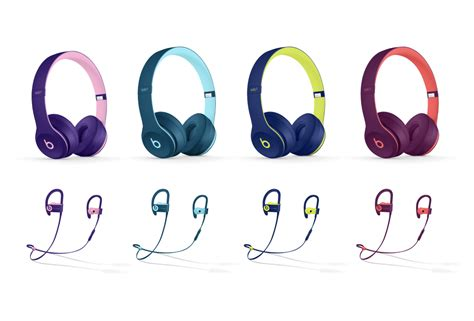 beats by dre colors beats by dre goes pop with new color collection hiphopdx