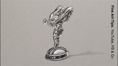 rolls royce logo drawing how to draw the spirit of ecstasy rolls royce emblem