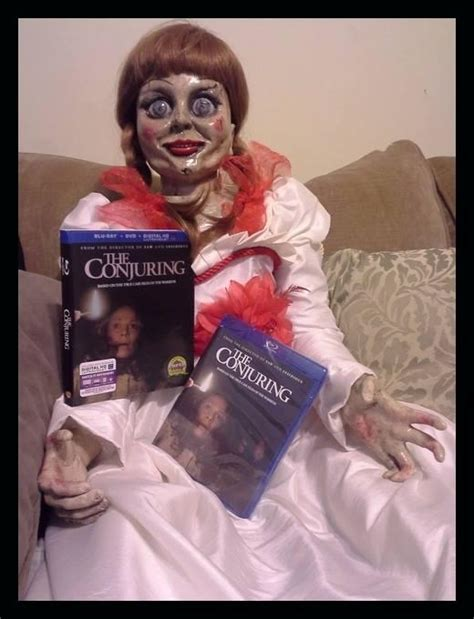 annabelle doll for sale ebay the conjuring haunted annabelle size doll ebay