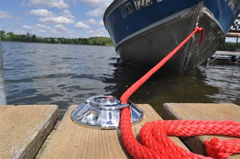 boat dock cleat knot no more knots with a quick cleat rope tie down