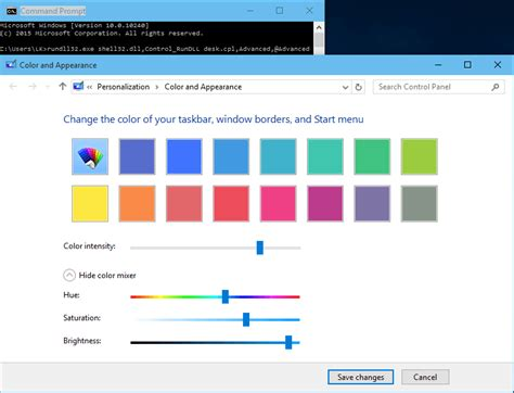 rgb color mixer trick to use color mixer to color in windows 10