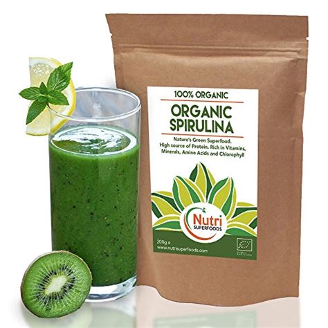 3 Green Spirulina Superfoods best price organic spirulina powder premium vegan plant