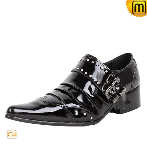 Patent Leather by Mens Black Patent Leather Dress Shoes Cw760026