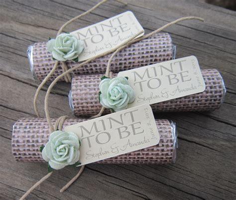 Wedding Favors Mints by Mint Wedding Favors Set Of 24 Mint Rolls Mint To