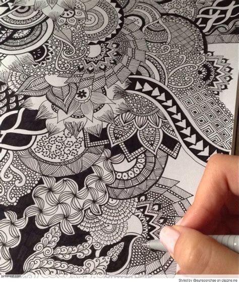 zentangle pattern ibex 211 best pen pencil doodling images on pinterest