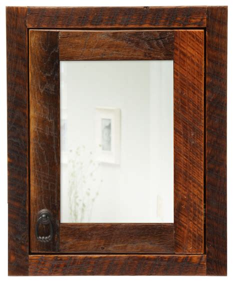 barnwood right hinged large medicine cabinet from fireside