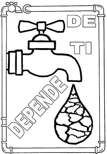 imagenes de como cuidar el agua para colorear dibujos del cuidado del agua para colorear el 22 de marzo