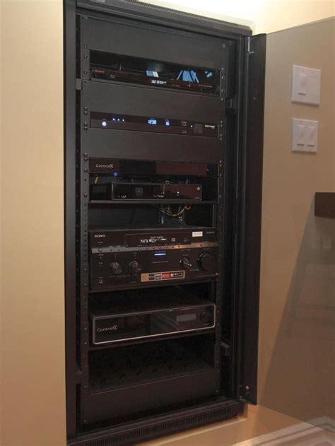 media room equipment rack 1000 images about av home theater equipment rack on