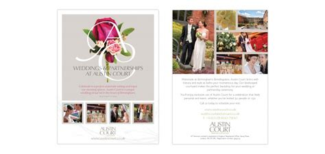 Wedding Stationery Brochure Pdf by Iet Venues Wedding Adverts And Banner Braes Design