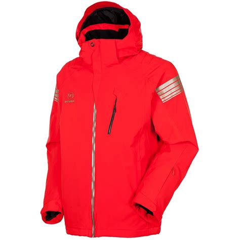Mens Insulated Ski Jacket rossignol experience ii stretch insulated ski jacket