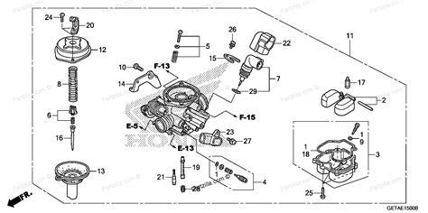 honda metropolitan carburetor diagram html